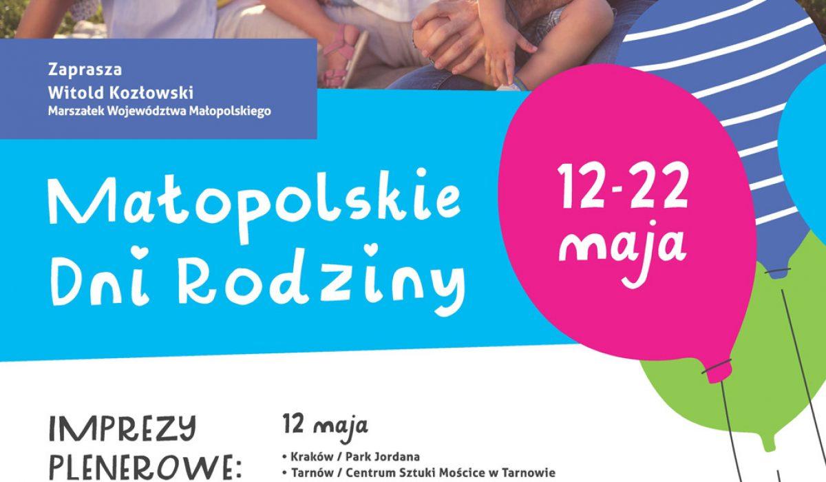 Plakat Malopolskie_dni_rodziny str
