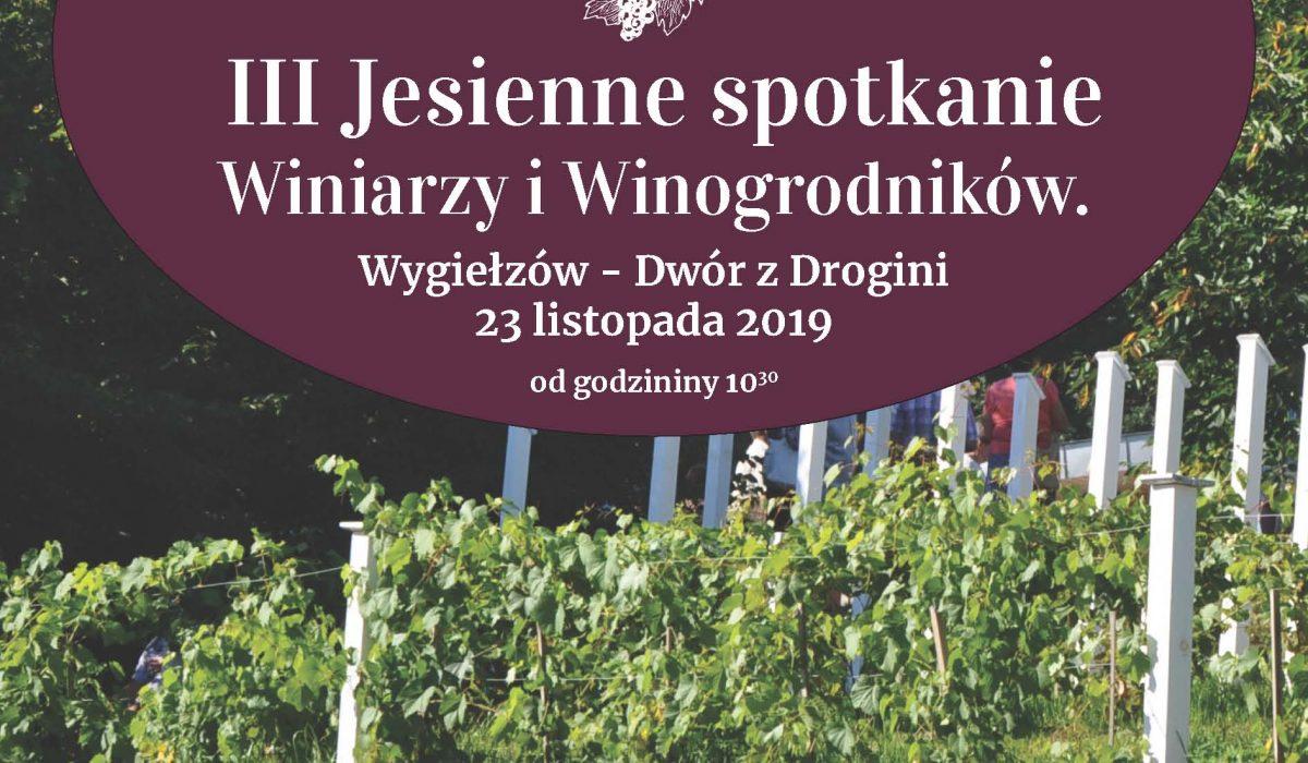 Winiarze 2019 plakat